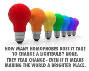 homophoes change lightbulb