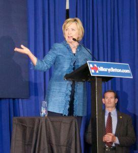Hillary Clinton at a the Louisiana Leadership Institute on 9/21/2016