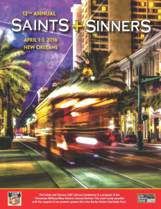 saints and sinners cover